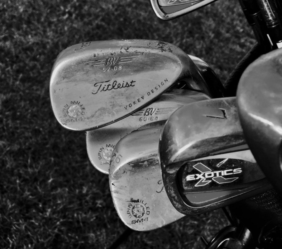 Golf practice, golf practice technique
