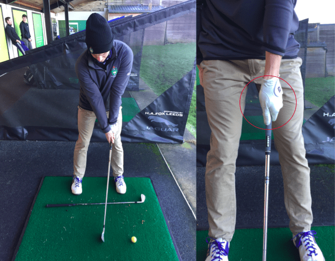 How to draw a golf ball grip post
