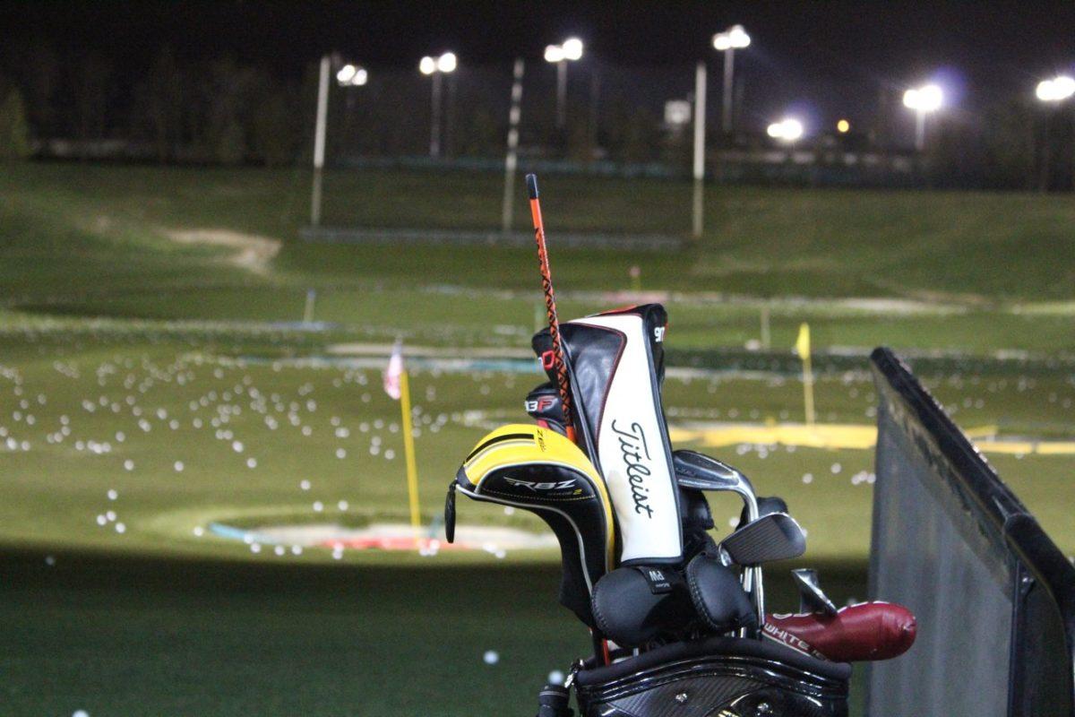 Golf practice stress
