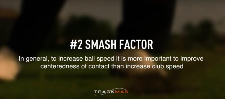 how to strike golf shots like a tour pro Smash factor