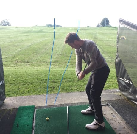 golf driving range near me how to optimise practice. Find two markers 20 yards apart aim to hit five balls through your target gap.