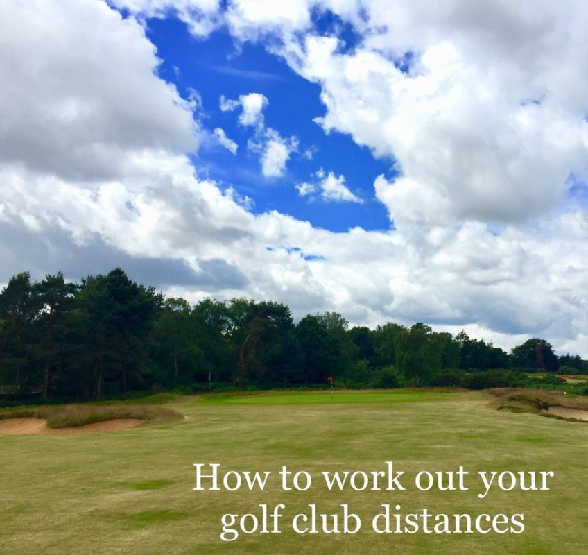 photo about Printable Golf Club Distance Chart called Golfing club distances - How toward operate yours out (cost-free down load