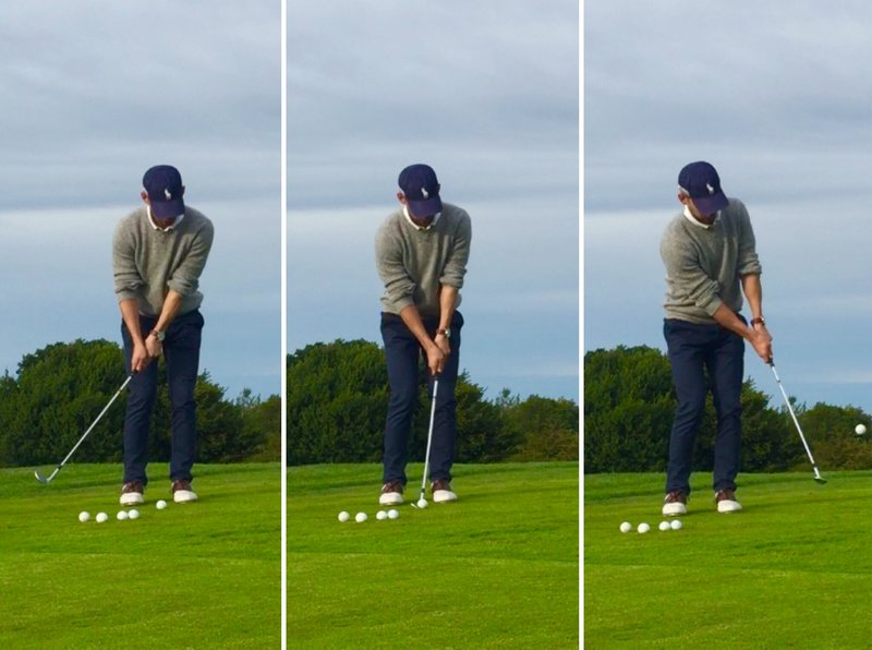 golf chipping technique