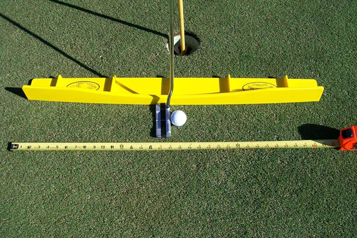 putting arc golf training aid review