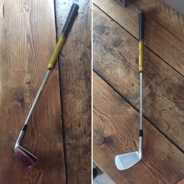 Practice golf at home with a mini golf club. Just follow the instructions below to create your own.