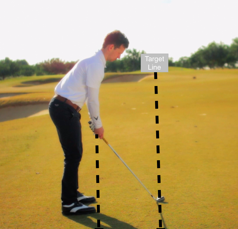 golf swing basics alignment picture