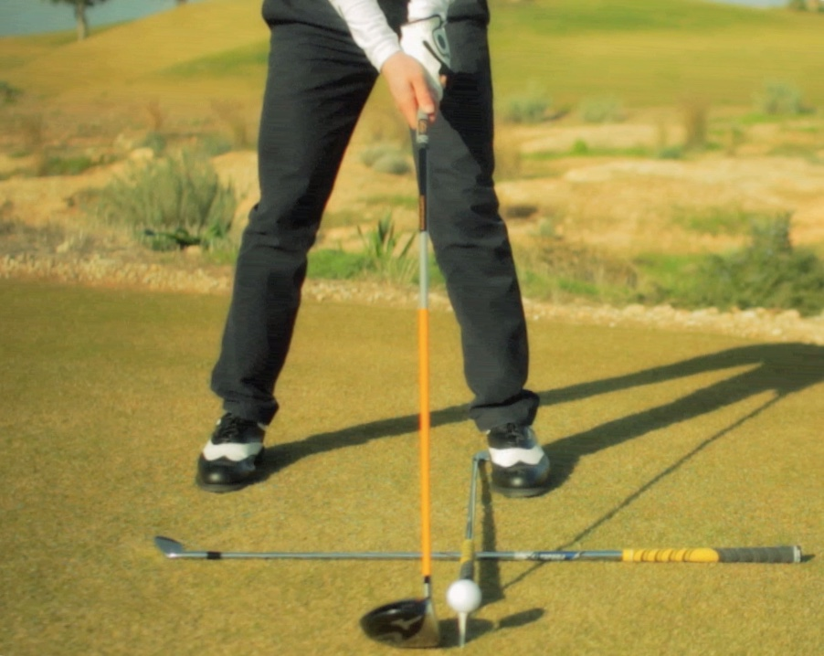 golf stance for driver