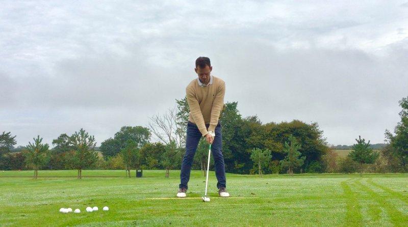 Practice golf with purpose header