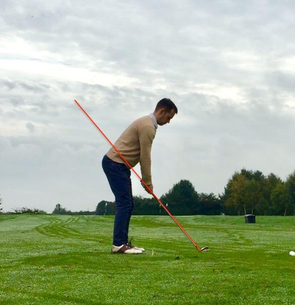 golf backswing take away swing plane