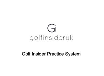 golf practice system