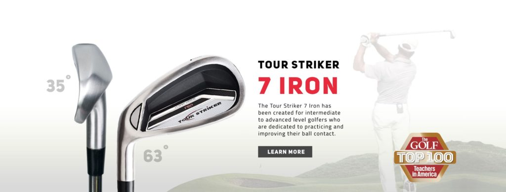 Tour striker 7-iron training aid