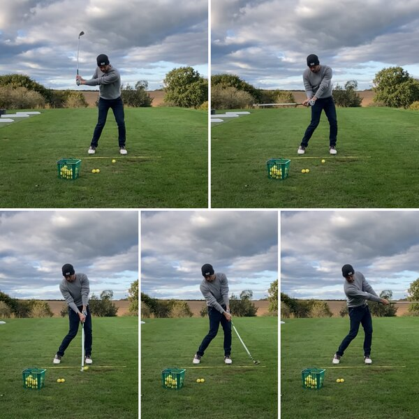 slicing in golf creating the ideal release