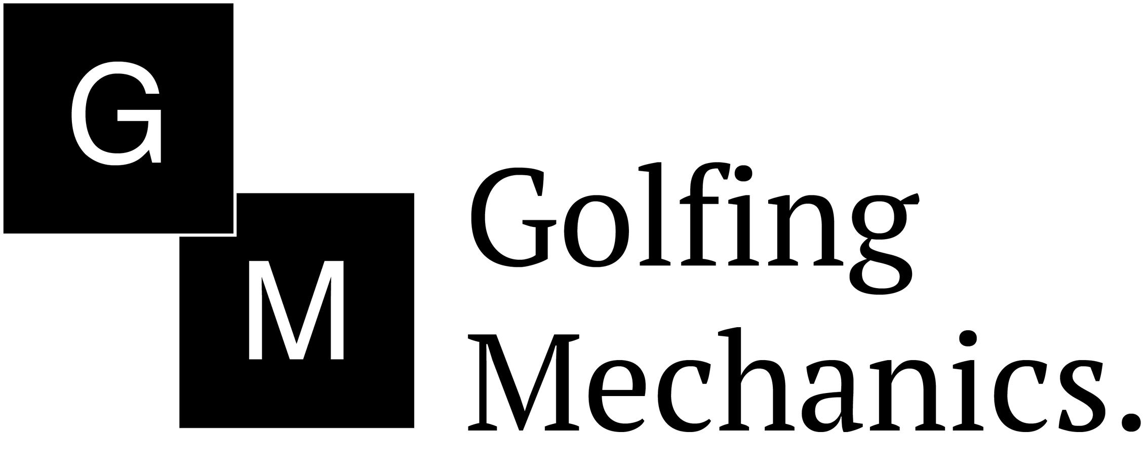 golfing mechanics logo