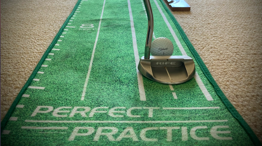 Perfect practice putting mat review header