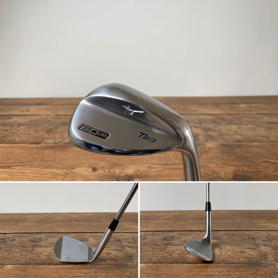 A Lob Wedge from behind, face on and side on.