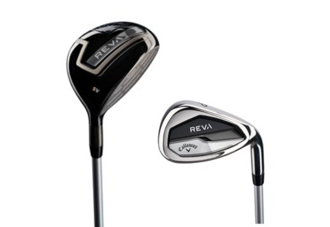 Callway Reva 5 wood and pitching wedge in the 8 piece set